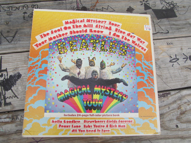 The Magical Mystery Tour vinyl Record