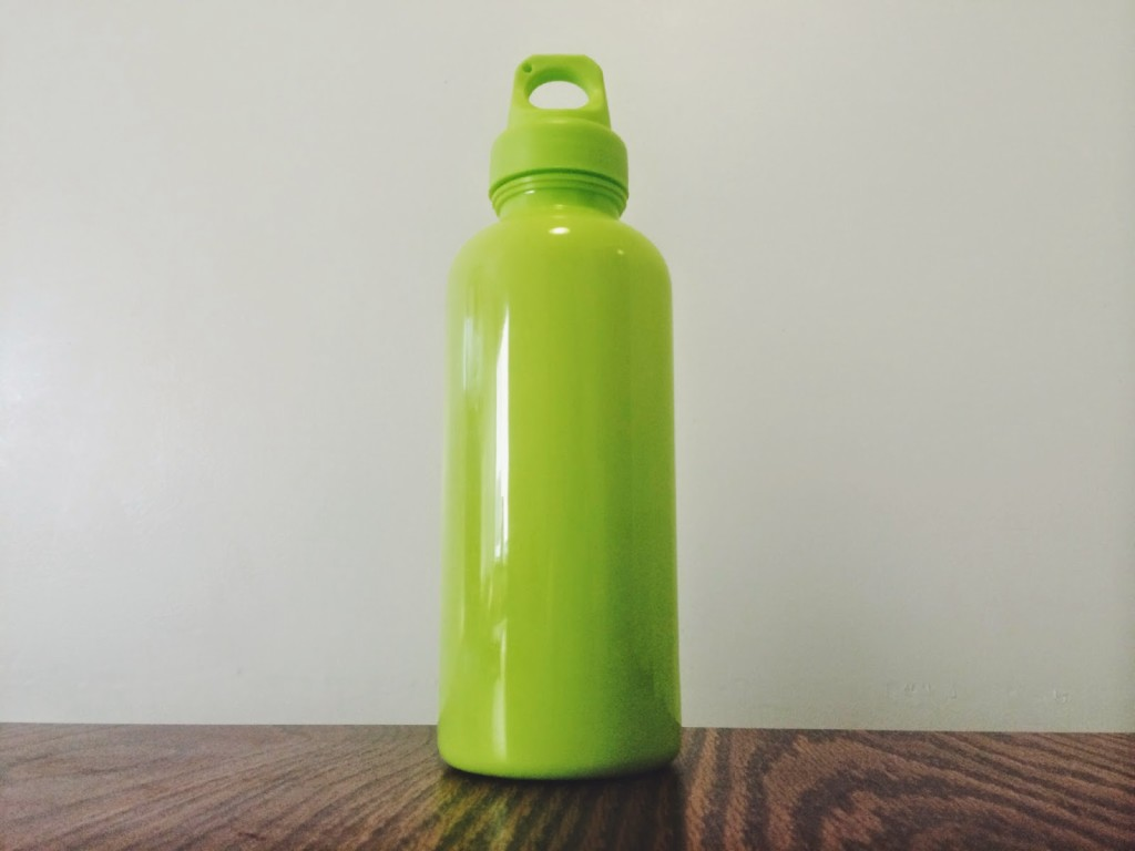 Target  green Water bottle