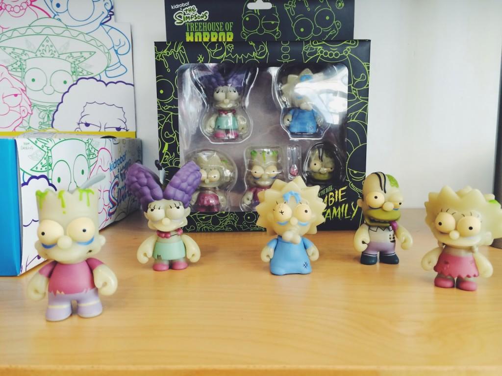 Kidrobot Zombie Simpsons