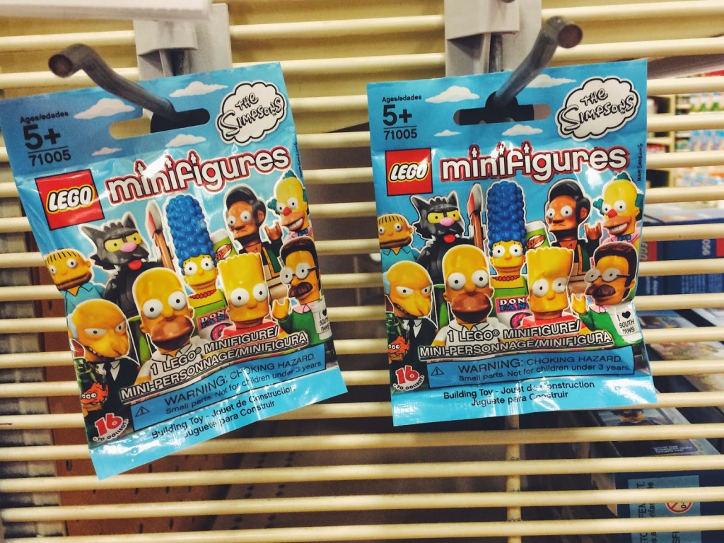 Simpsons LEGO mini figures
