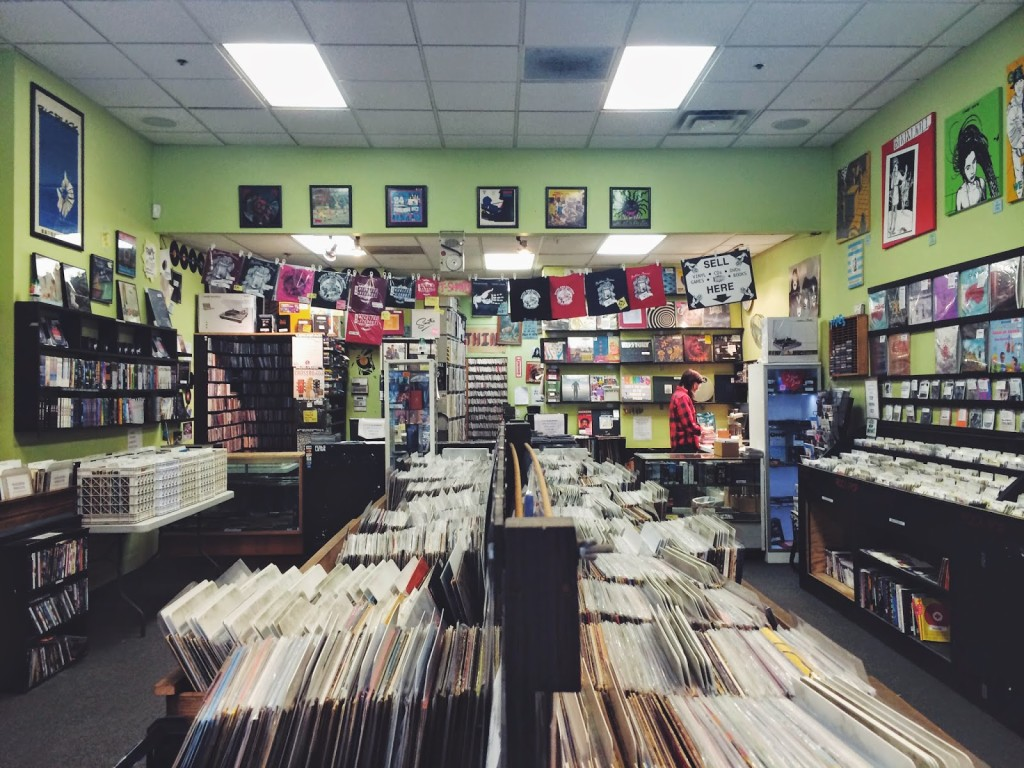 Record stores in Chicago