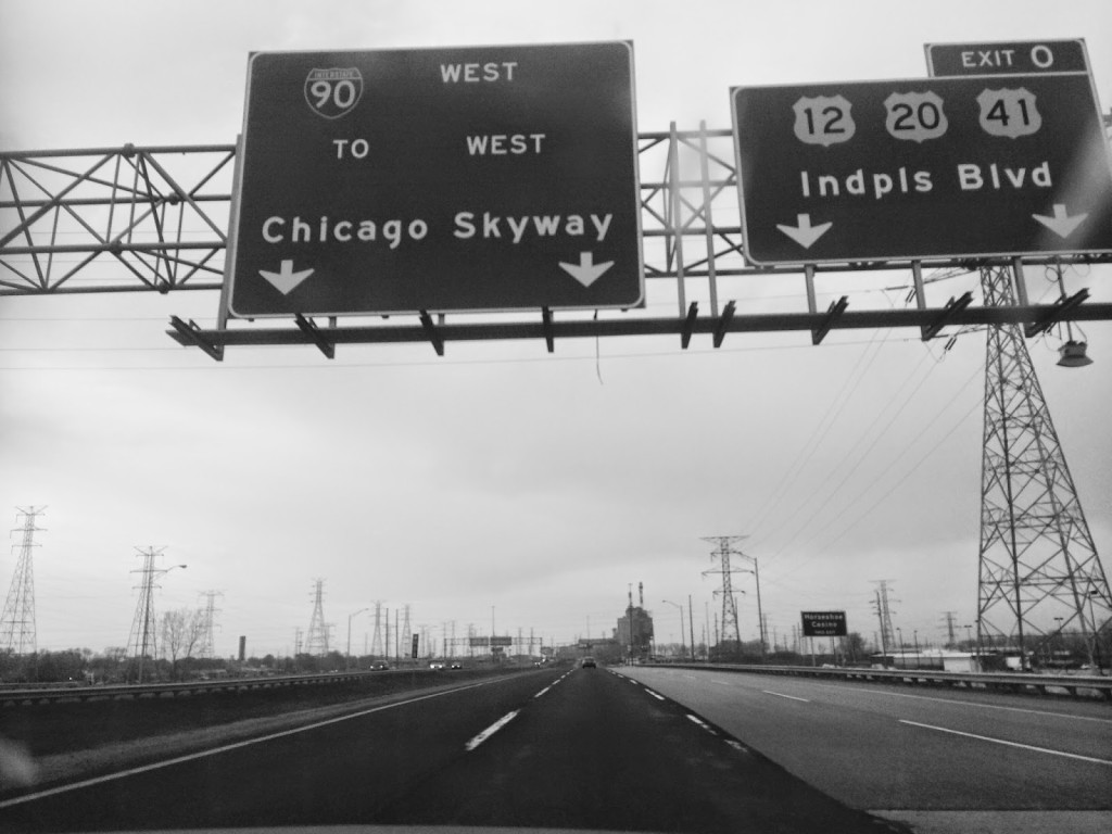 Chicago Skyway Sign
