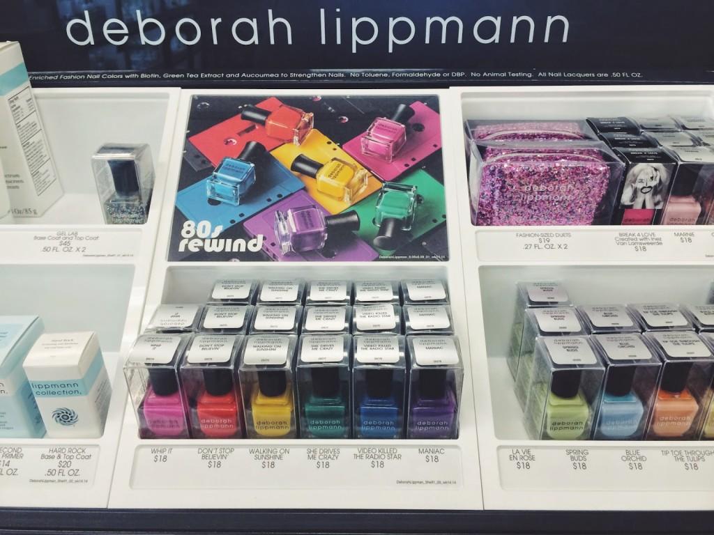 Deborah Lippmann 80s rewind