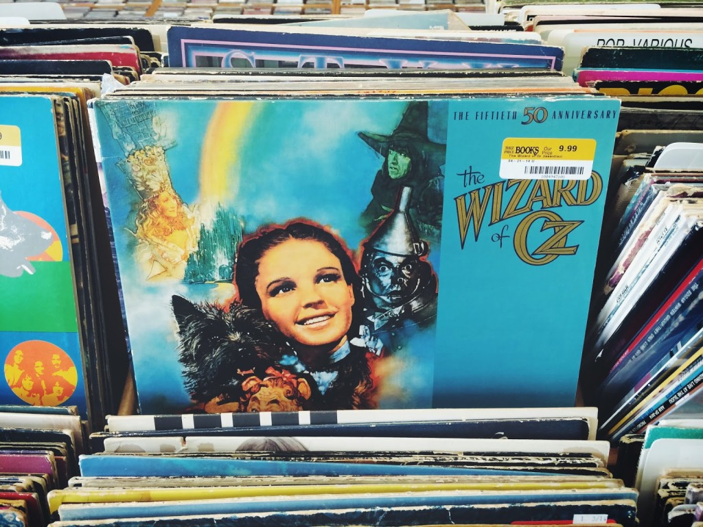 The Wizard of Oz Soundtrack Vinyl Record