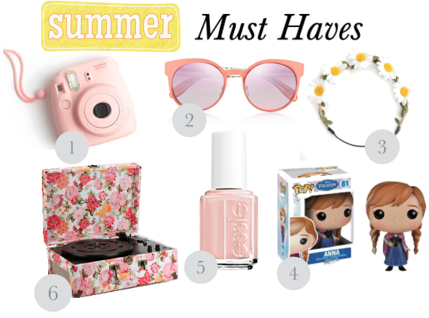 Summer Must Have Items