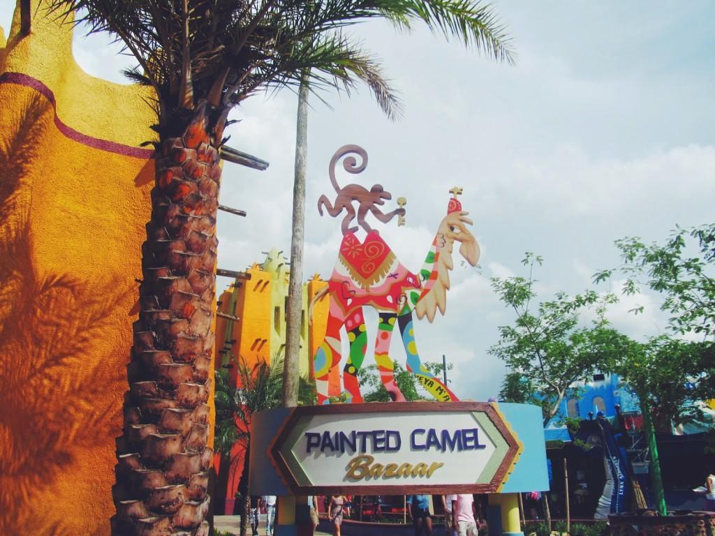 Busch Gardens Painted Camel Bazaar