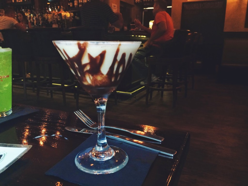 Chocolate Kiss Martini