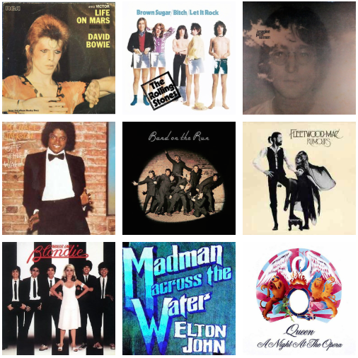Best songs of the 70s playlist
