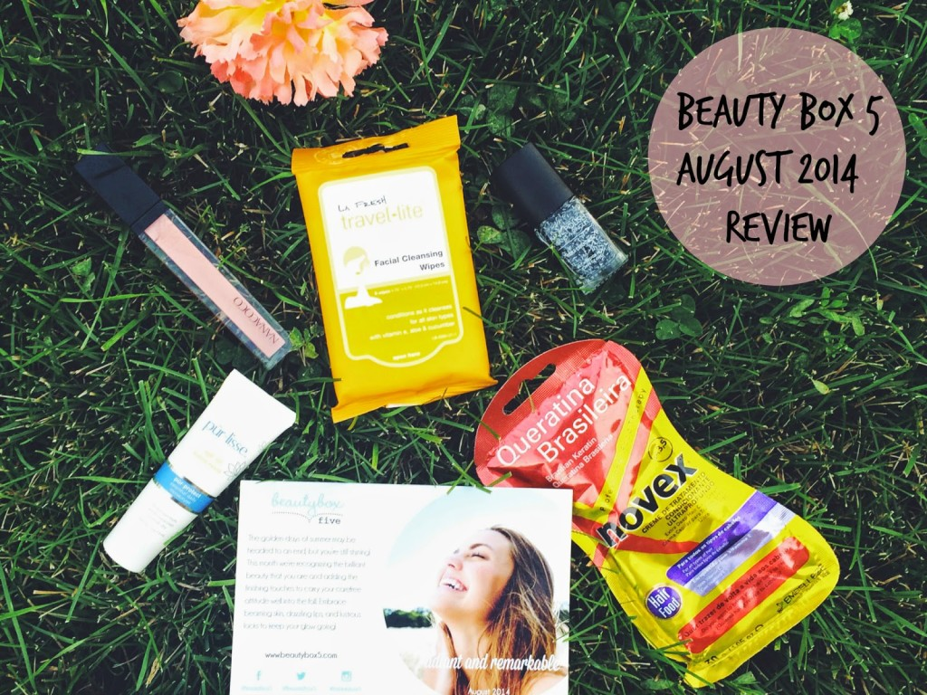 Beauty Box 5 August 2014 Review, Beauty Box 5 August, Beauty Box 5 August 2014, Beauty Box 5 Review