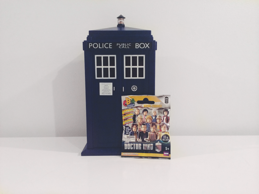 Character Building Doctor Who 50th Anniversary Micro Blind Bag Figures, Doctor Who Blind Bags