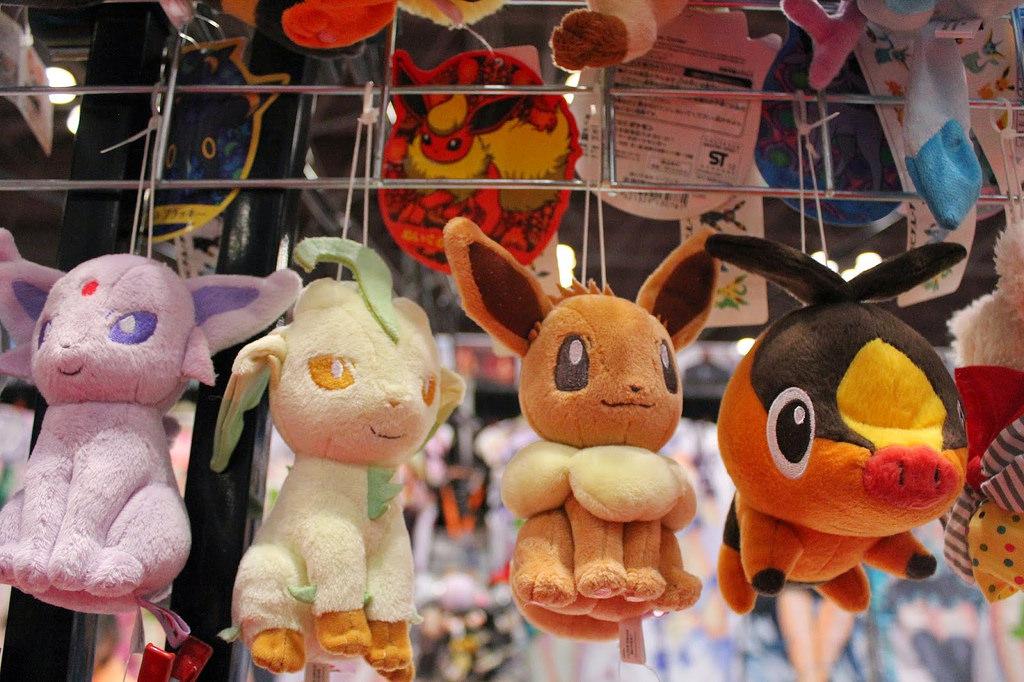 New York Comic Con Pokemon Plush