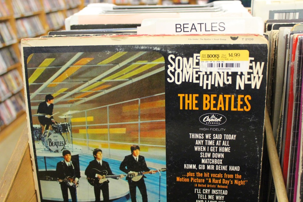The Beatles vinyl records