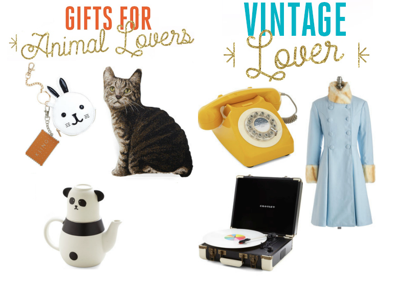 ModCloth Holiday Gift Guide, Holiday Gift Guide, 2014 Holiday Gift Guide, Gifts for Animal lovers, holiday Gifts for Animal lovers, holiday gifts for vintage lovers