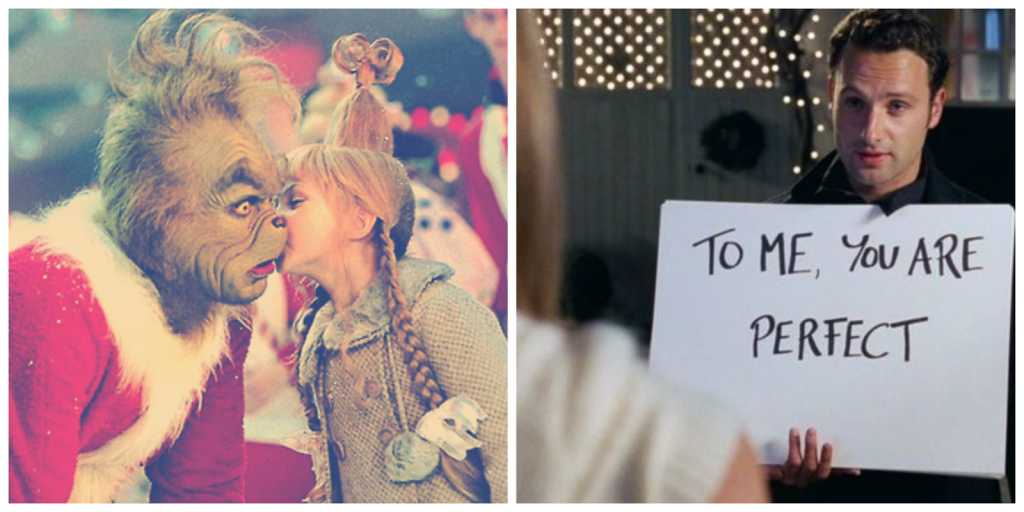 Best Christmas Films: Love Actually & How The Grinch Stole Christmas