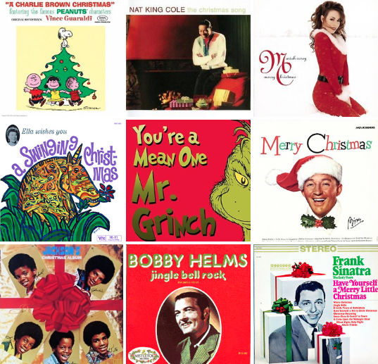 Monday's Music, Christmas Music, Top ten Christmas songs, Best Christmas songs, Best christmas songs of all time