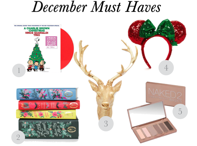 December Must Have Items