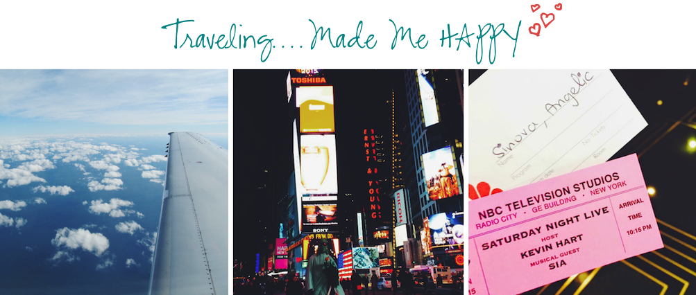 12 Months of Happiness Traveling to NYC