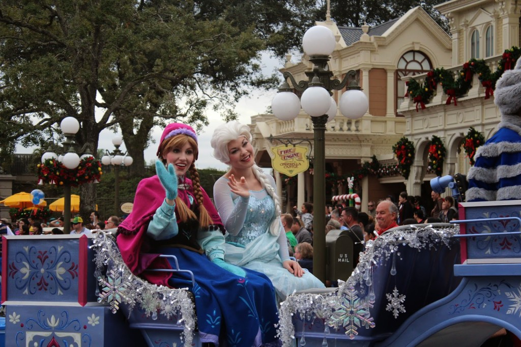 Anna and Elsa Disney World