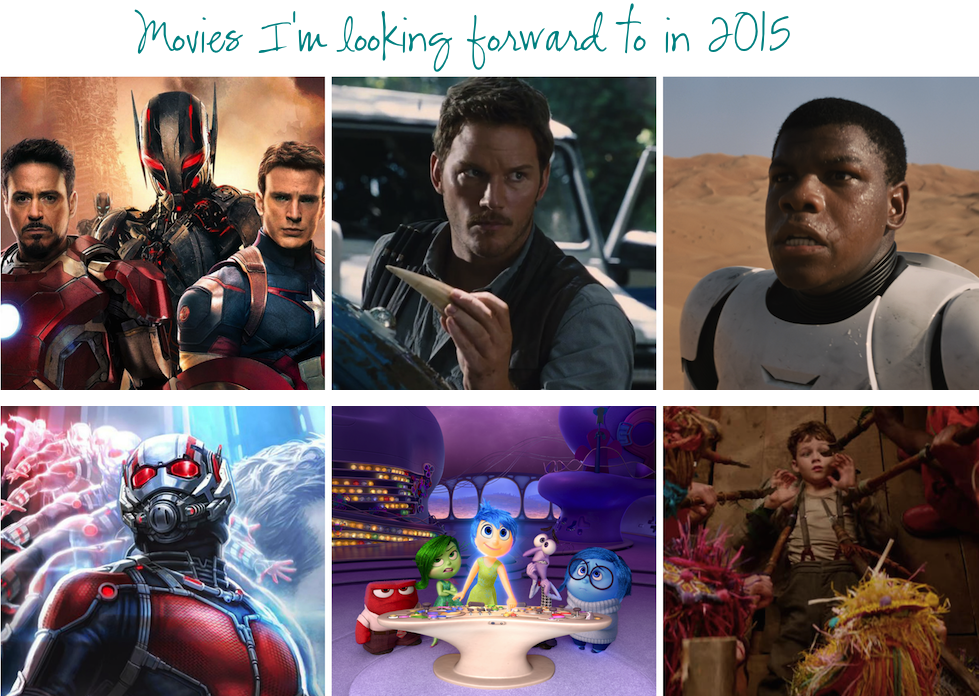Movies Coming Out in 2015