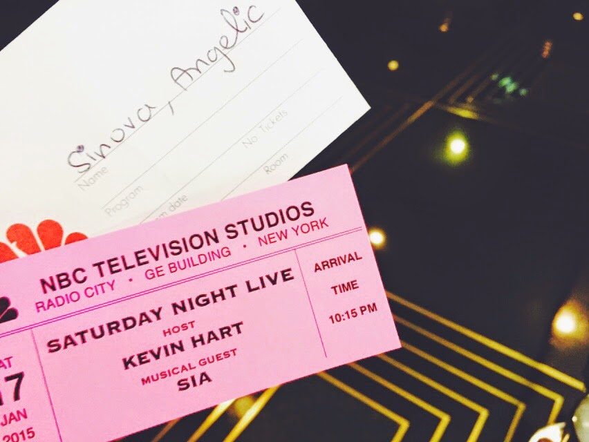 Saturday Night Live Taping