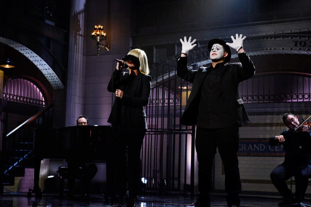 Sia Saturday Night Live Performance
