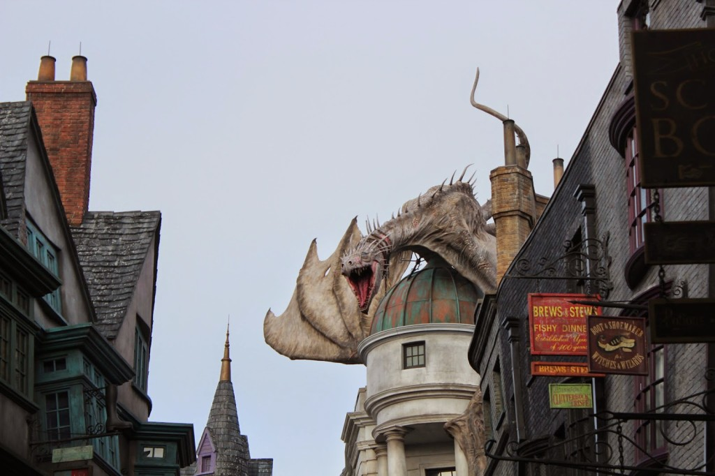 Wizarding World of Harry Potter Harry Potter and the Escape from Gringotts
