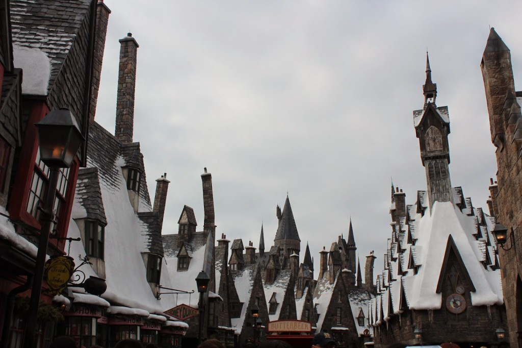 Wizarding World of Harry Potter at Christmas