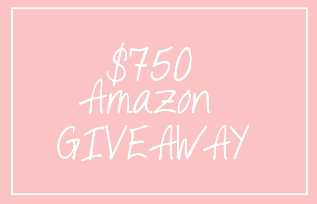 $750 Amazon GIVEAWAY, Amazon Gift Card giveaway, $750 gift card giveaway, $750 amazon giveaway, $750 amazon gift card giveaway