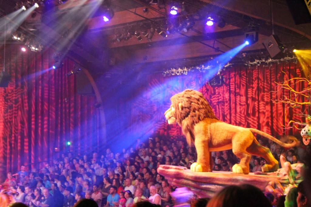 Animal Kingdom Festival of the Lion King Simba