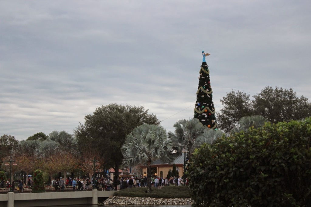 Disney World Epcot Christmas tree