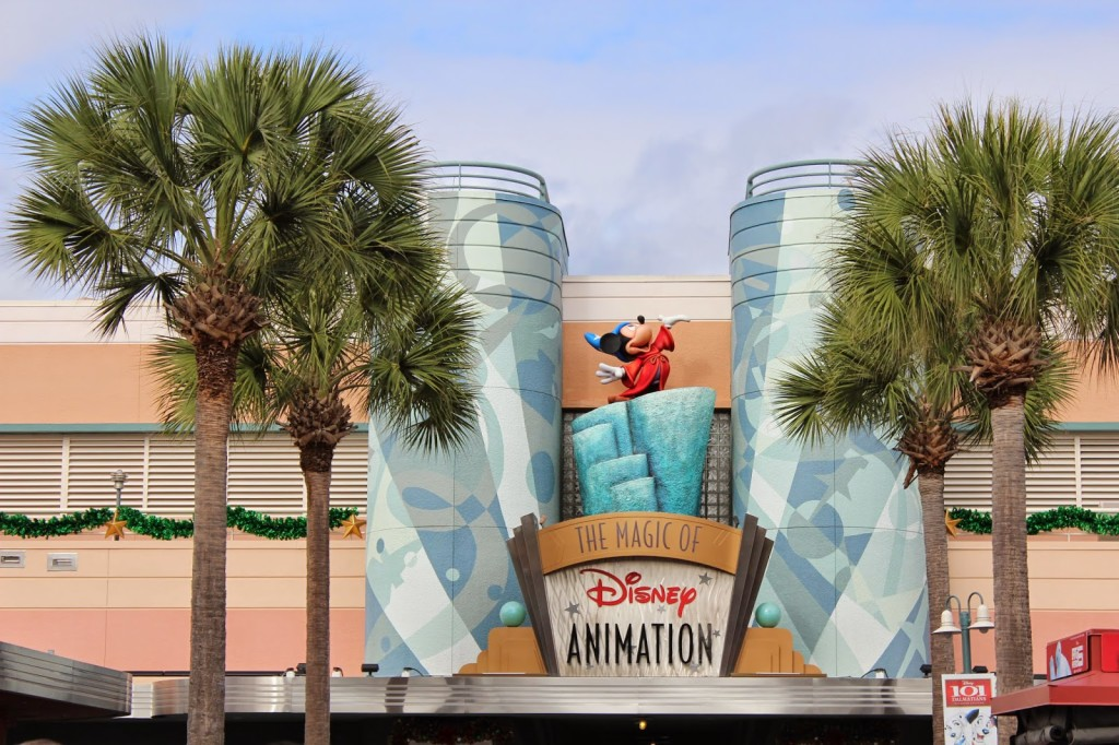 Disney World Hollywood Studios The Magic of Disney Animation
