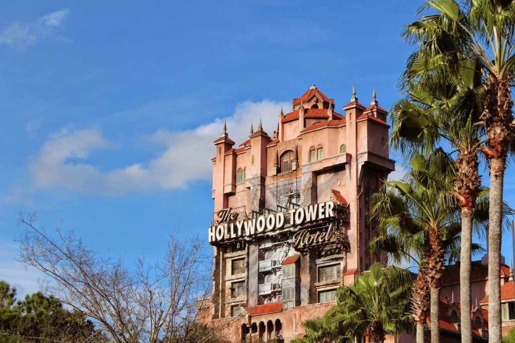 Disney World Hollywood Studios The Tower of Terror