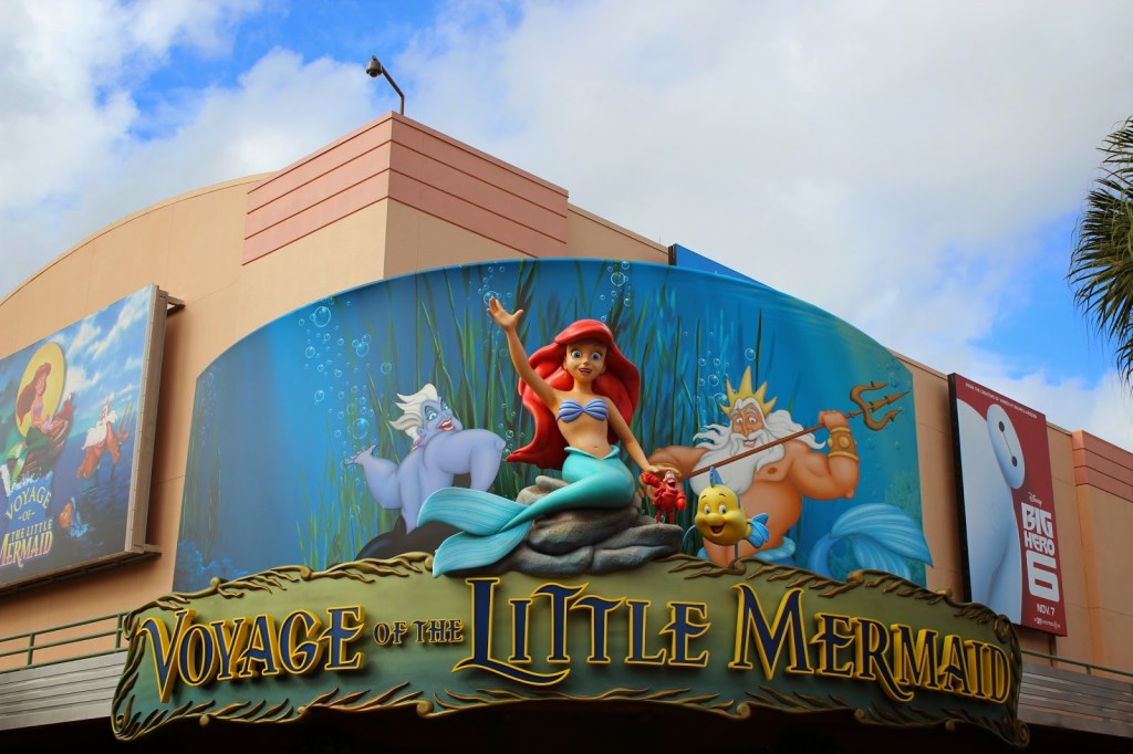 Disney World Hollywood Studios Voyage of the Little Mermaid