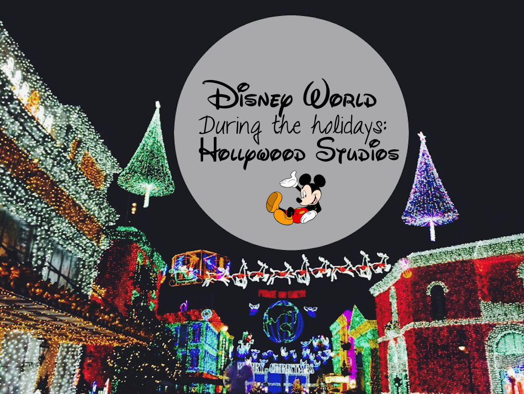 Disney World Hollywood Studios during Christmas