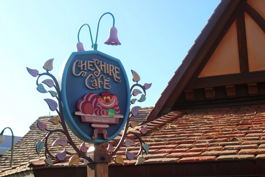 Disney World Magic Kingdom Cheshire Cafe