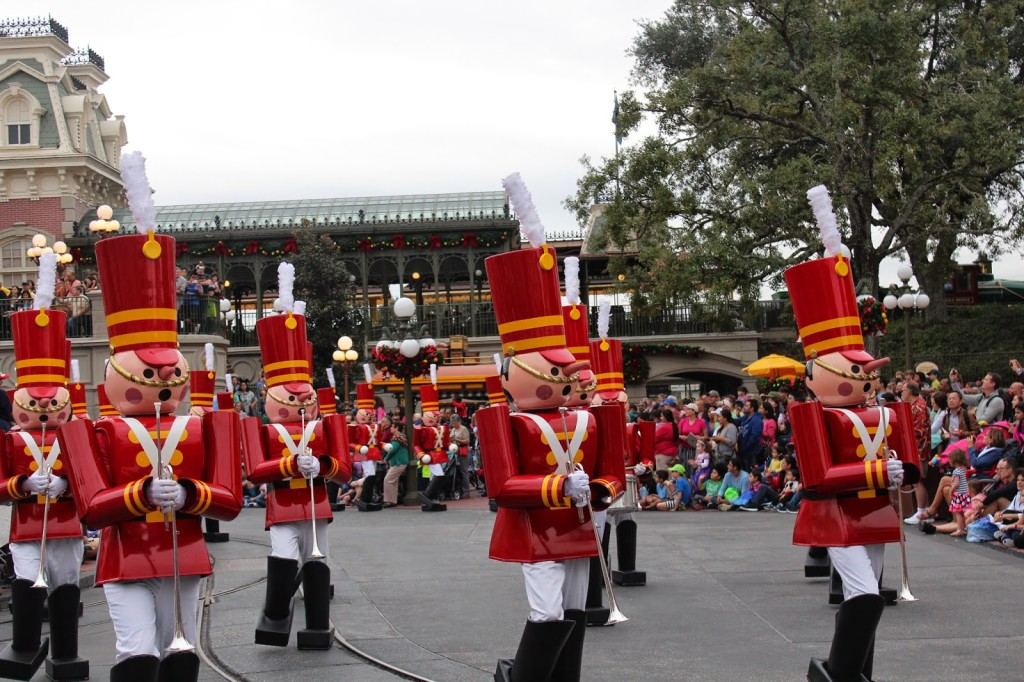 Disney World Magic Kingdom Christmas Parade
