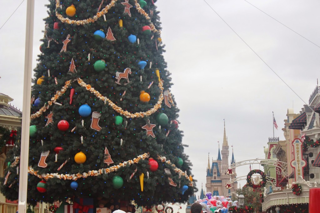 Disney World Magic Kingdom Christmas Tree