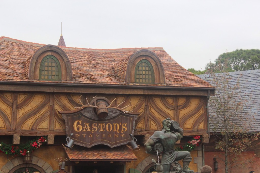 Disney World Magic Kingdom Gastons Tavern