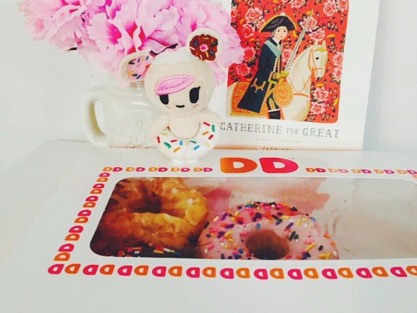 Dunkin Donuts, DD Perks Reward Program, Dunkin Donuts DD Perks Rewards Program, Donut Donutella tokidoki