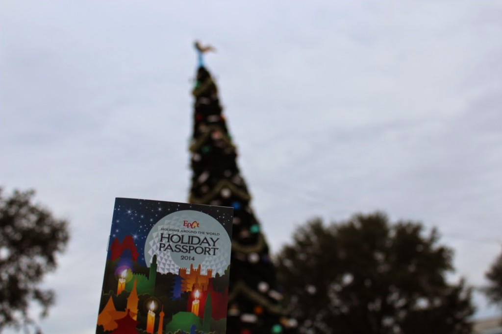 Epcot Holiday Passport 2014