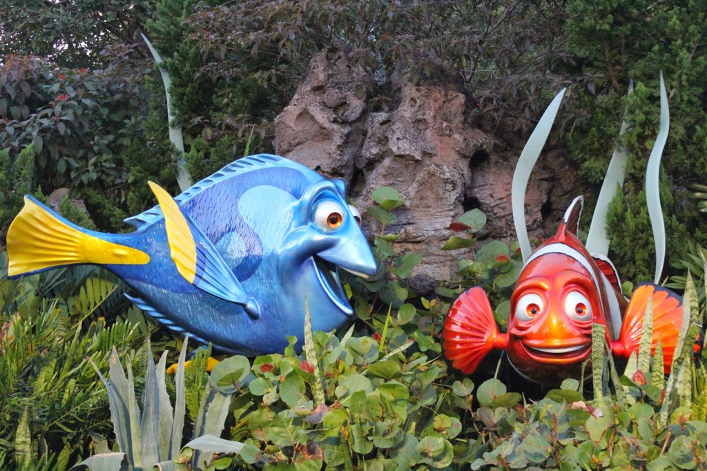 Epcot The Seas with Nemo and Friends