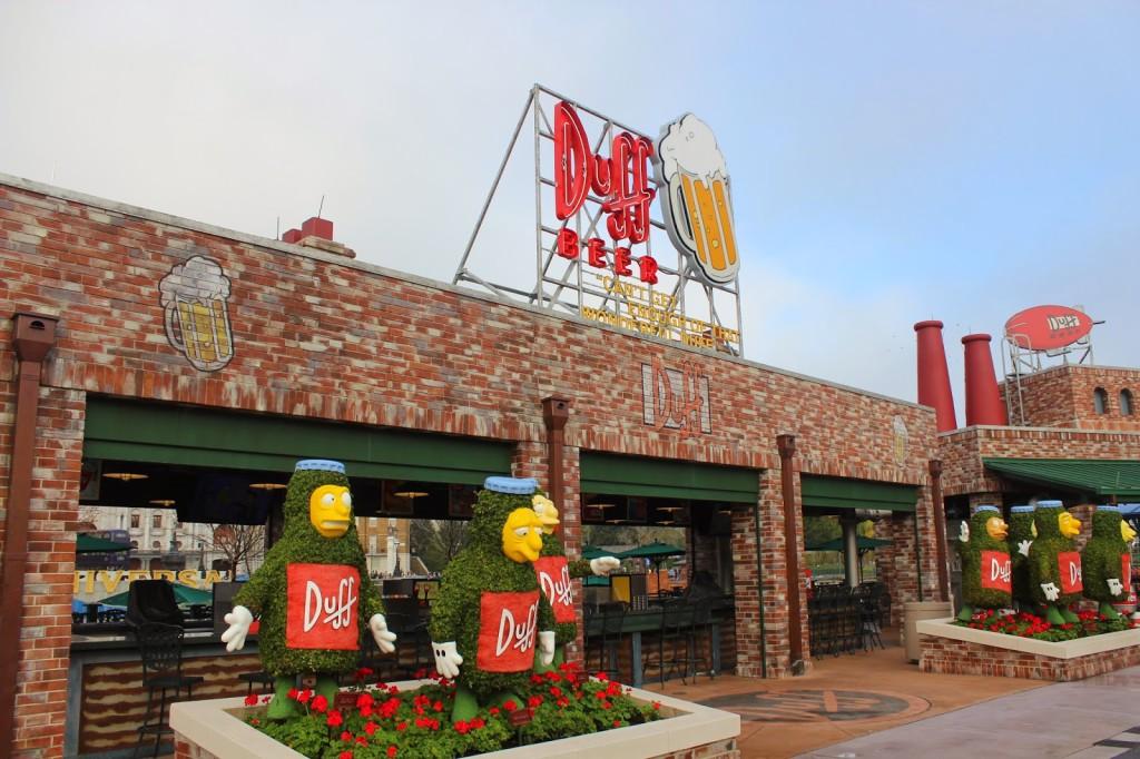 Duff Beer Universal Orlando