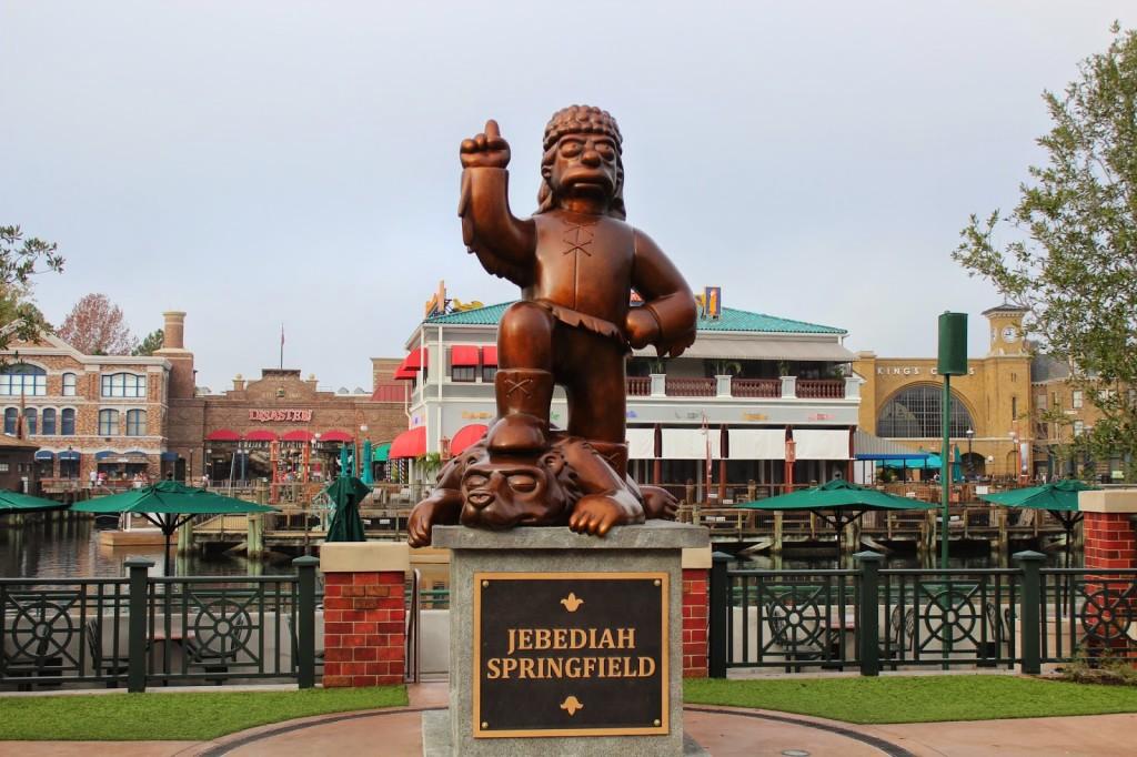 Jedediah Springfield Universal Studios