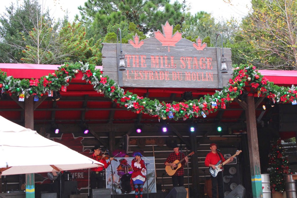 The Mill Stage Epcot Canada