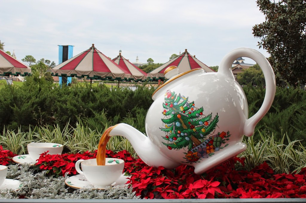 United Kingdom Epcot teapot