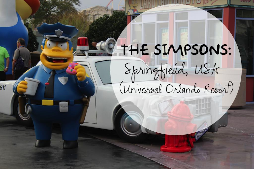 Universal Orlando Resort Springfield USA