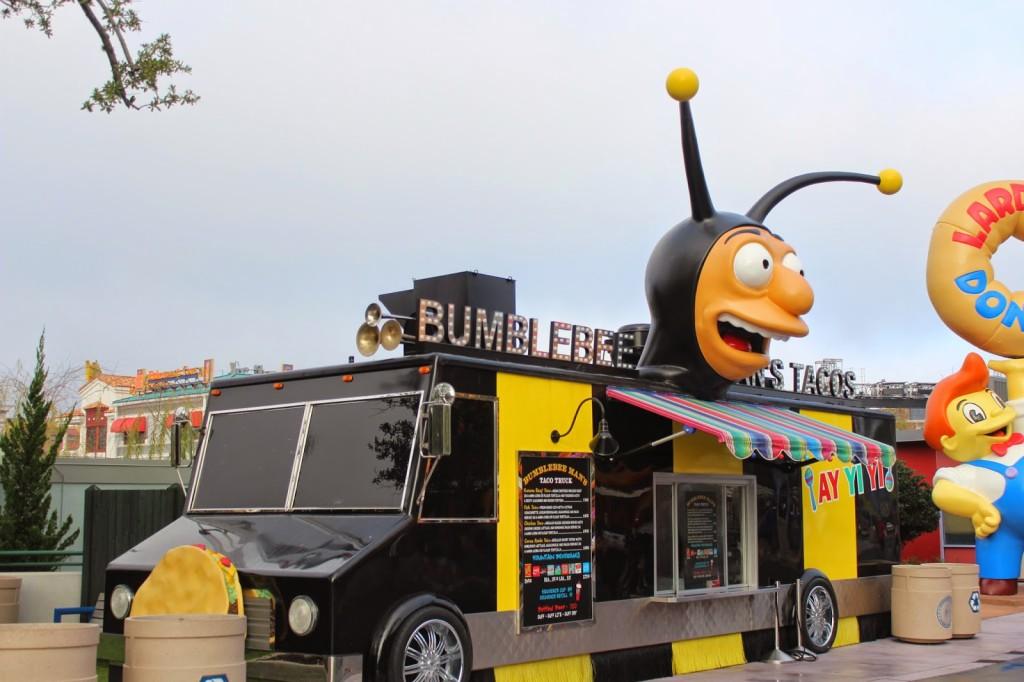 Universal Studios Bumblebee Mans Tacos