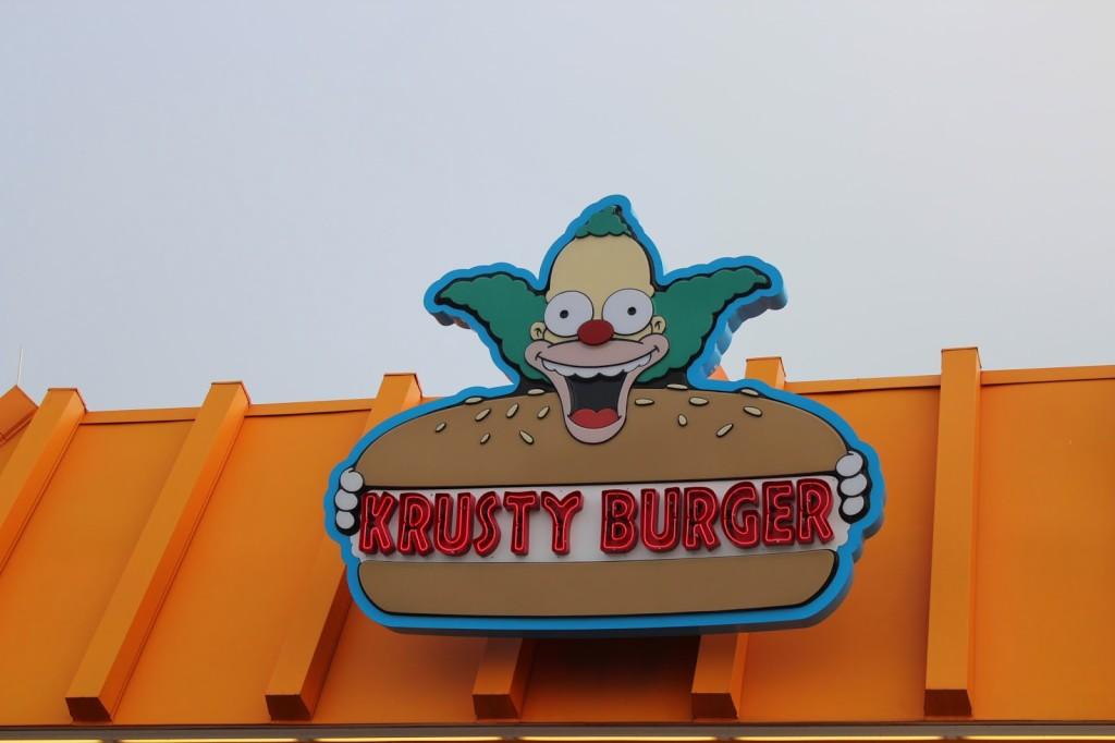 Universal Studios Florida Krusty Burger