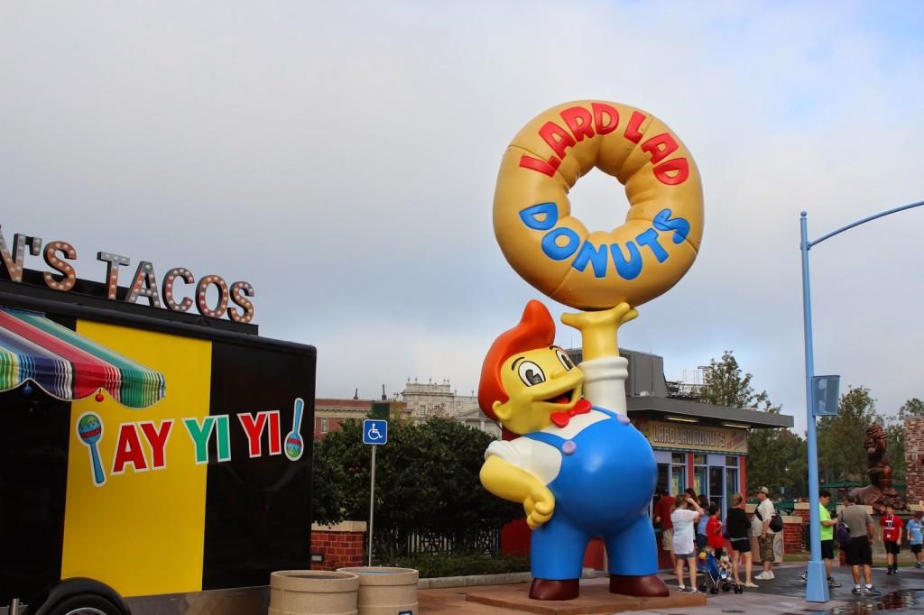 Universal Studios Lardlad Donuts