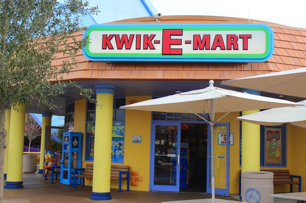Unviseral Studios Florida Kwik-E-mart Springfield